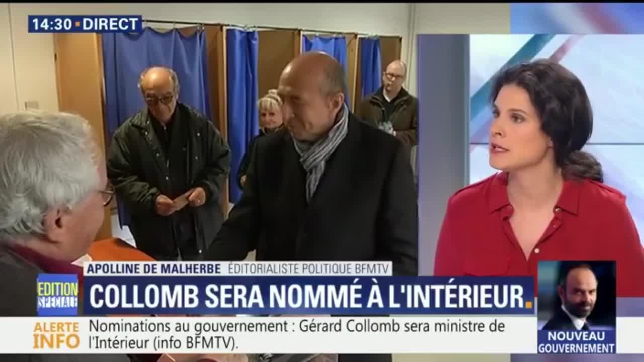 Nominations au gouvernement : Gérard Collomb sera ministre de l ...