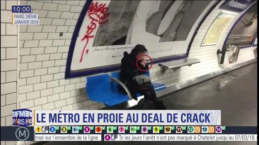 Crack dans le métro parisien: à certaines stations, des conducteurs ...