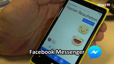 Télécharger Facebook Messenger pour Windows Phone - 01net