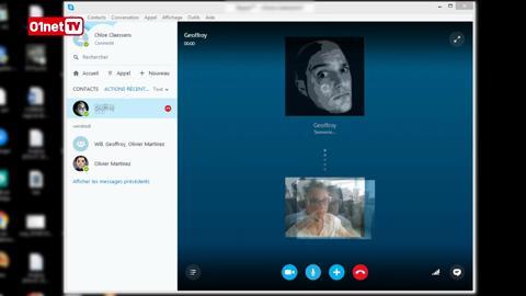 skype 2011 gratuit sur 01net