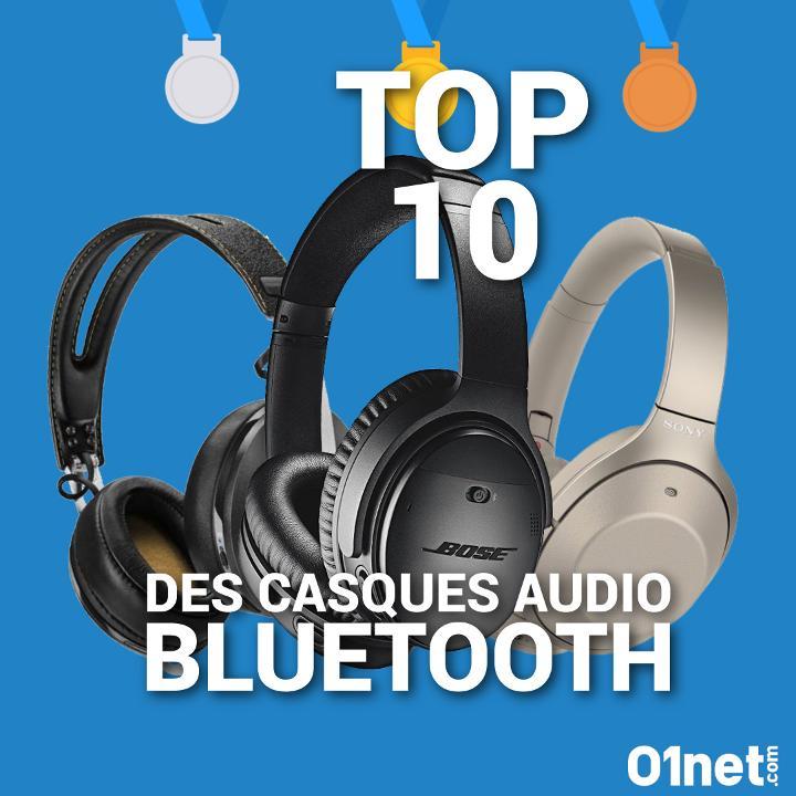 Top 10 : les meilleurs casques audio Bluetooth