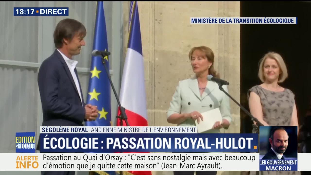 """Résultat de recherche d'images pour """"segolene royal Macron Hulot"""""""