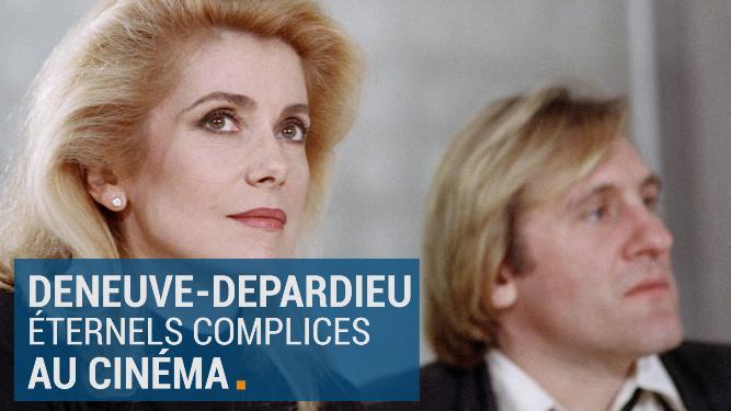 Deneuve et Depardieu, éternels complices au cinéma