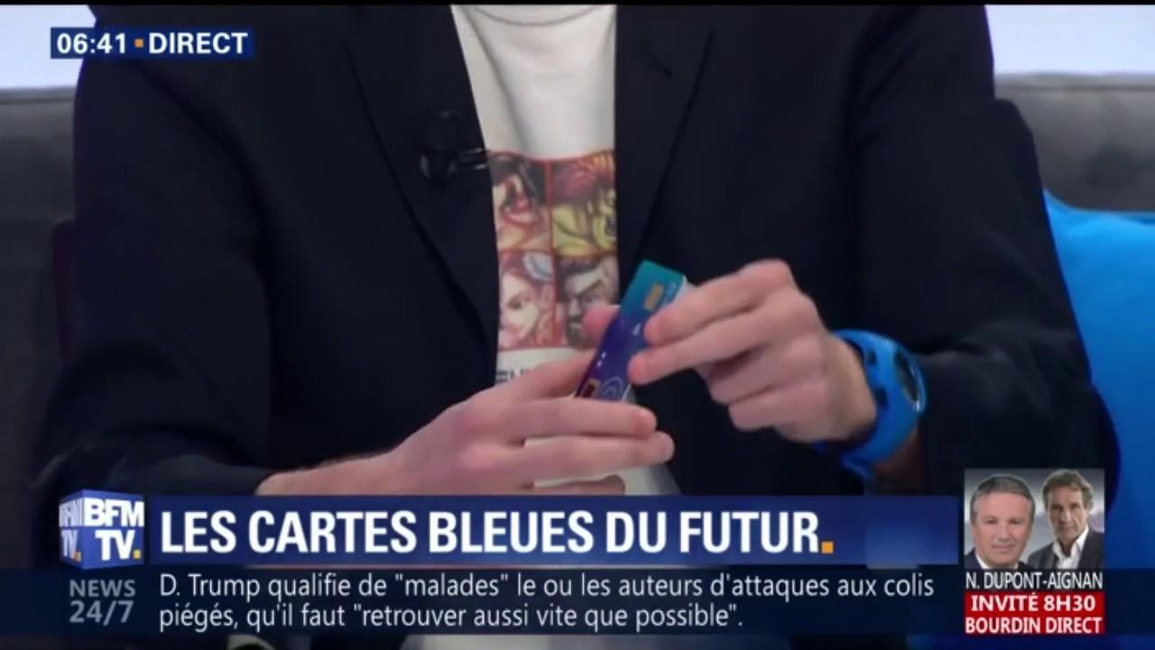 55317ee5c96d3 La carte bancaire à reconnaissance d'empreinte digitale débarque en France