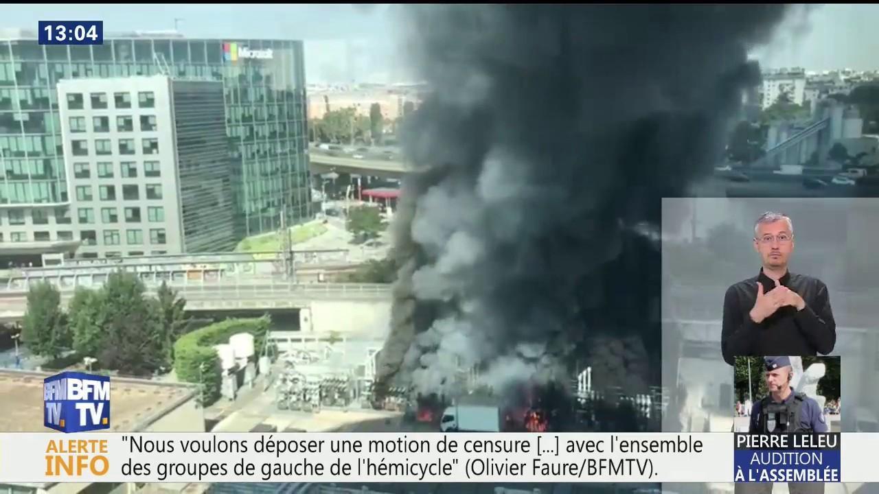 Sncf Le Trafic Est Totalement Interrompu A La Gare Montparnasse En